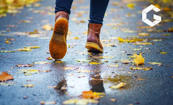 Which types of footwear are best for rainy seasons?